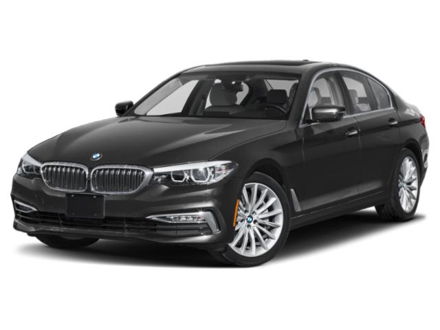 2018 BMW 5 Series Pictures 5 Series Sedan 4D 530xi AWD photos side front view