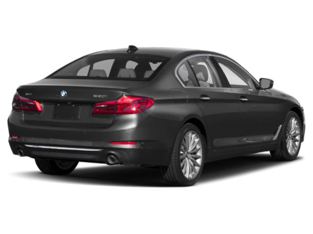 2018 BMW 5 Series Pictures 5 Series Sedan 4D 530xi AWD photos side rear view