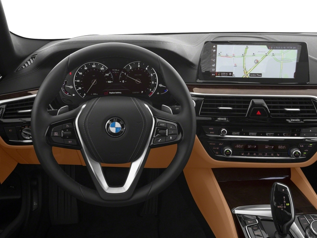 2018 BMW 5 Series Prices and Values Sedan 4D 540i driver's dashboard