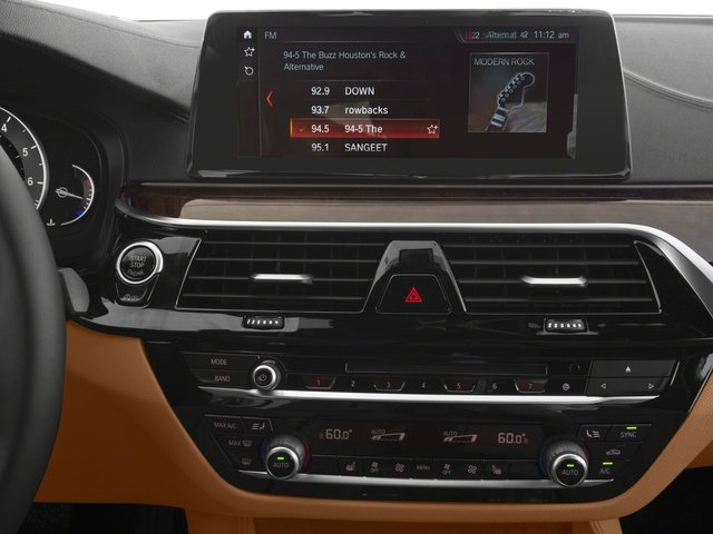 2018 BMW 5 Series Prices and Values Sedan 4D 540i stereo system