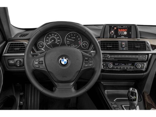 2018 BMW 3 Series Prices and Values Sedan 4D 320i driver's dashboard