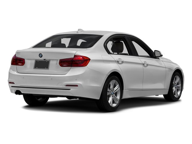 2018 BMW 3 Series Prices and Values Sedan 4D 330xi AWD side rear view