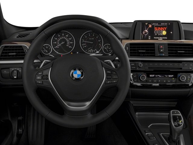 2018 BMW 3 Series Prices and Values Sedan 4D 330xi AWD driver's dashboard