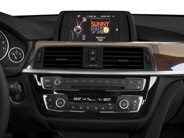 2018 BMW 3 Series Prices and Values Sedan 4D 330i stereo system