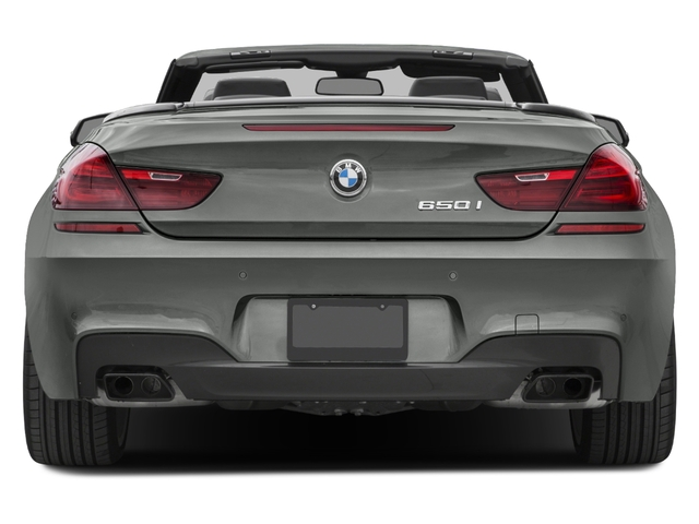 2018 BMW 6 Series Base Price 650i Convertible Pricing Rear View