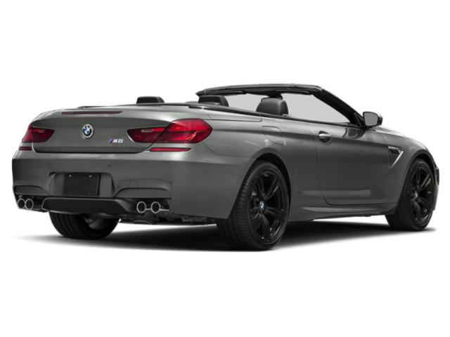 2018 BMW M6 Pictures M6 Convertible photos side rear view