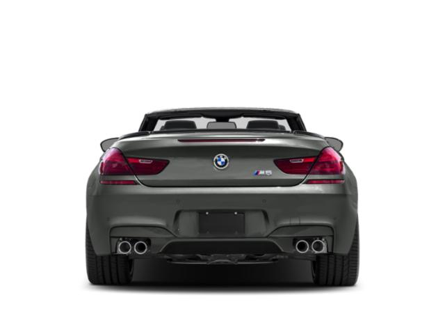 2018 BMW M6 Pictures M6 Convertible photos rear view
