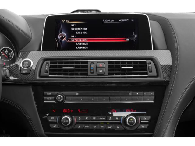 2018 BMW M6 Pictures M6 Convertible photos stereo system
