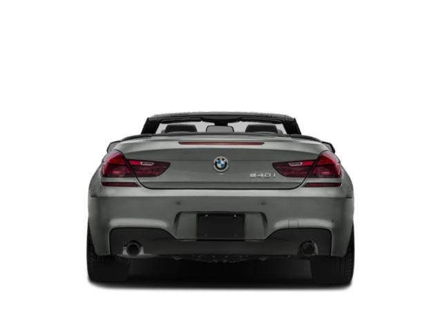 2018 BMW 6 Series Pictures 6 Series 640i Convertible photos rear view