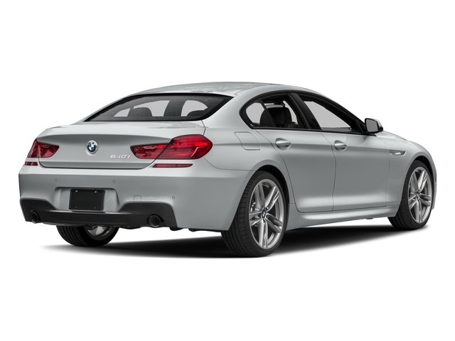 2018 BMW 6 Series Prices and Values Sedan 4D 640xi AWD side rear view