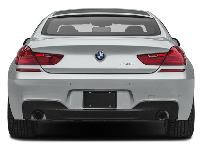 2018 BMW 6 Series Prices and Values Sedan 4D 640xi AWD rear view