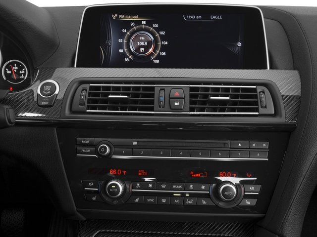 2018 BMW M6 Base Price Gran Coupe Pricing stereo system