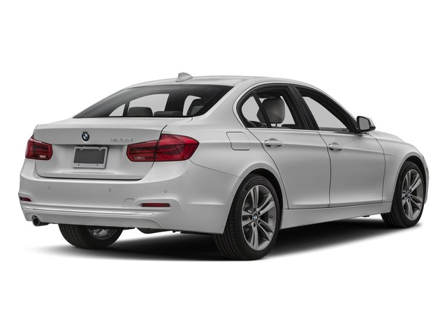 2018 BMW 3 Series Prices and Values Sedan 4D 328d side rear view