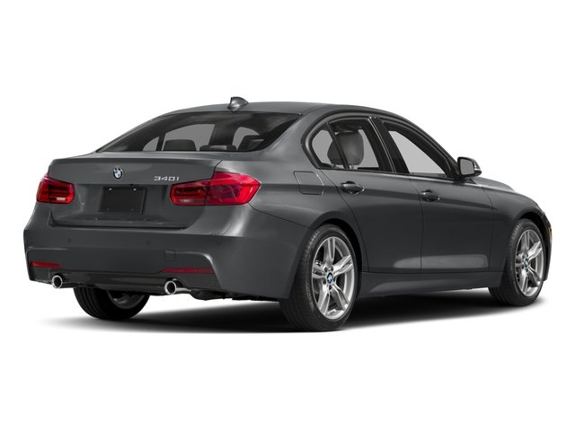 2018 BMW 3 Series Prices and Values Sedan 4D 340i side rear view