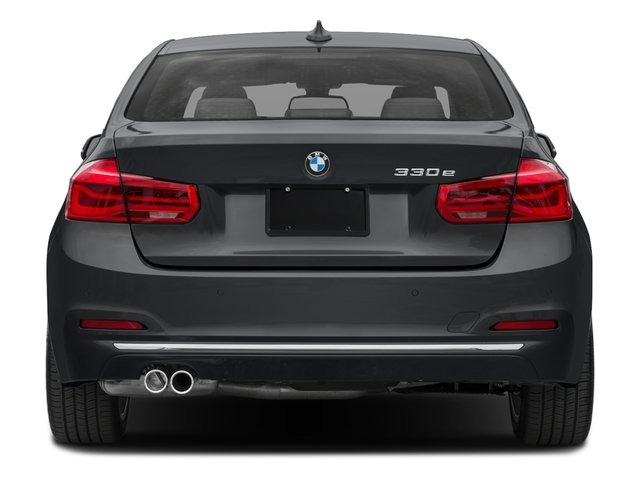 2018 BMW 3 Series Base Price 330e iPerformance Plug-In Hybrid Pricing rear view