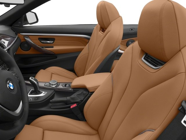 2018 BMW 4 Series Base Price 440i xDrive Convertible Pricing front seat interior