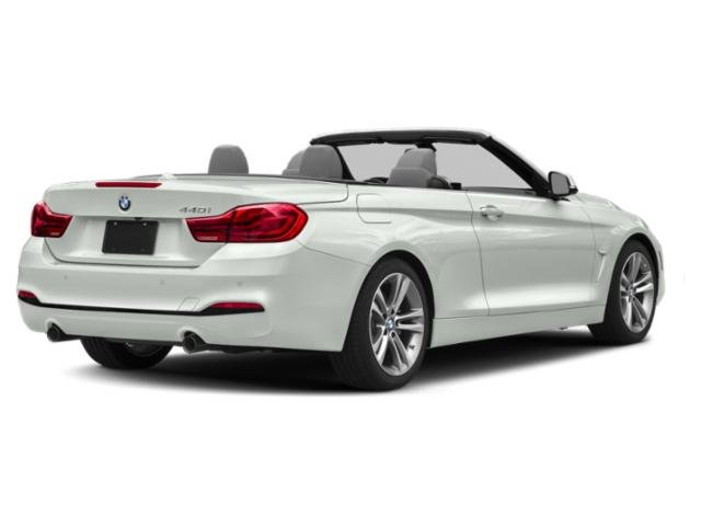 2018 BMW 4 Series Base Price 440i xDrive Convertible Pricing side rear view