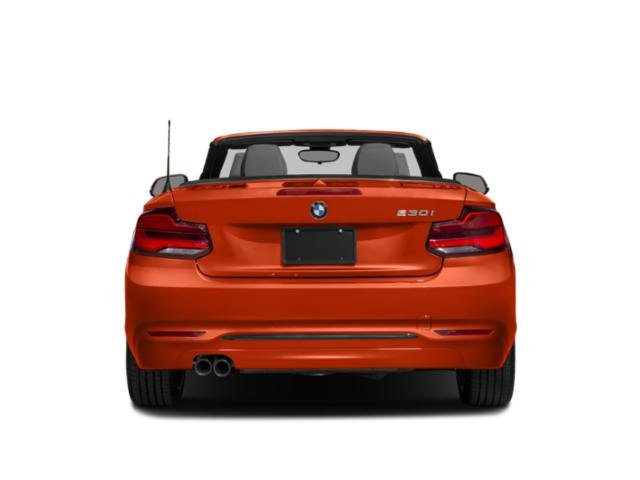 2018 BMW 2 Series Pictures 2 Series Convertible 2D 230xi AWD photos rear view