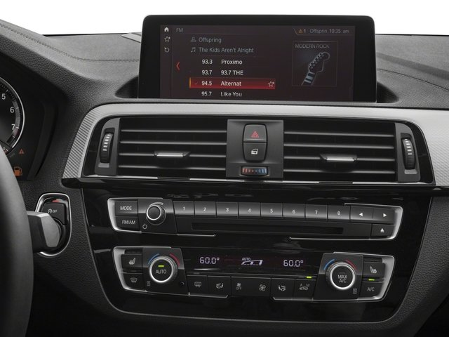 2018 BMW 2 Series Base Price M240i Coupe Pricing stereo system