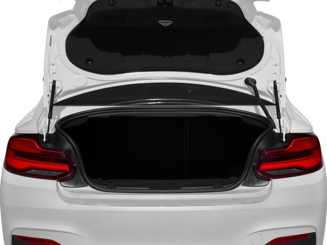 2018 BMW 2 Series Base Price M240i Coupe Pricing open trunk