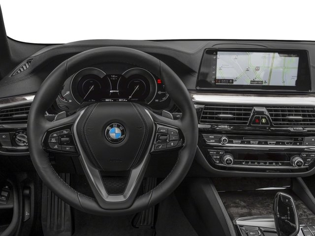 2018 BMW 5 Series Prices and Values Sedan 4D 530xe AWD driver's dashboard
