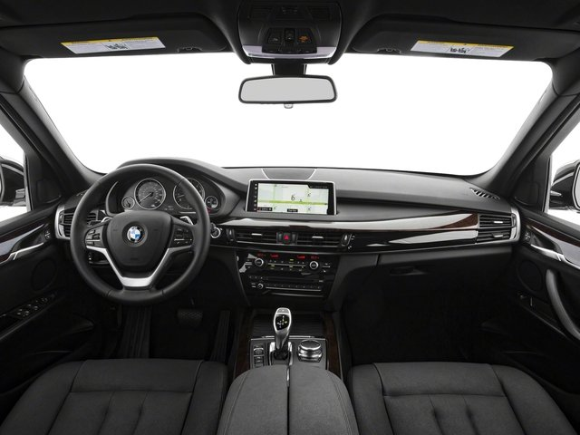 2018 BMW X5 Base Price xDrive35d Sports Activity Vehicle Pricing full dashboard