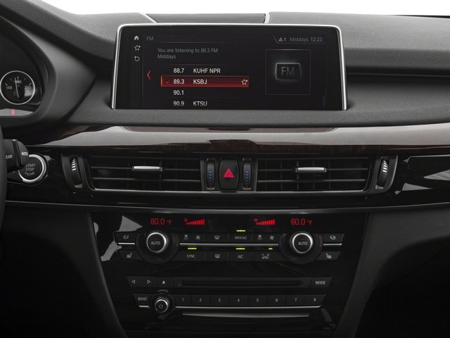 2018 BMW X5 Base Price xDrive35d Sports Activity Vehicle Pricing stereo system