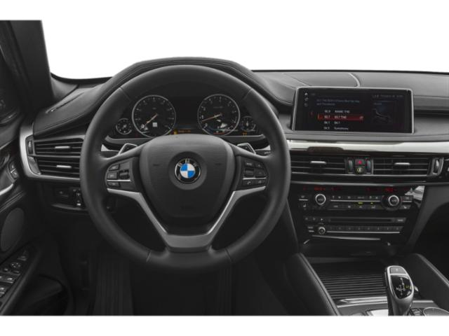2018 BMW X6 Prices and Values Utility 4D xDrive 50i AWD driver's dashboard