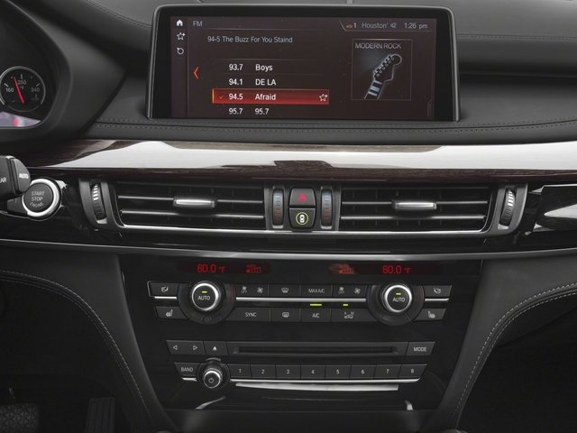 2018 BMW X5 M Prices and Values Utility 4D M AWD stereo system