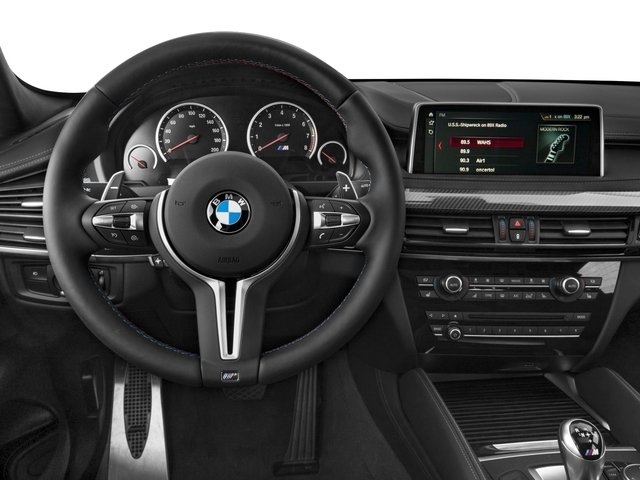 2018 BMW X6 M Prices and Values Utility 4D M AWD driver's dashboard