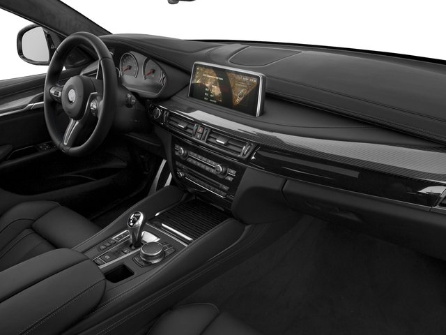 2018 BMW X6 M Prices and Values Utility 4D M AWD passenger's dashboard