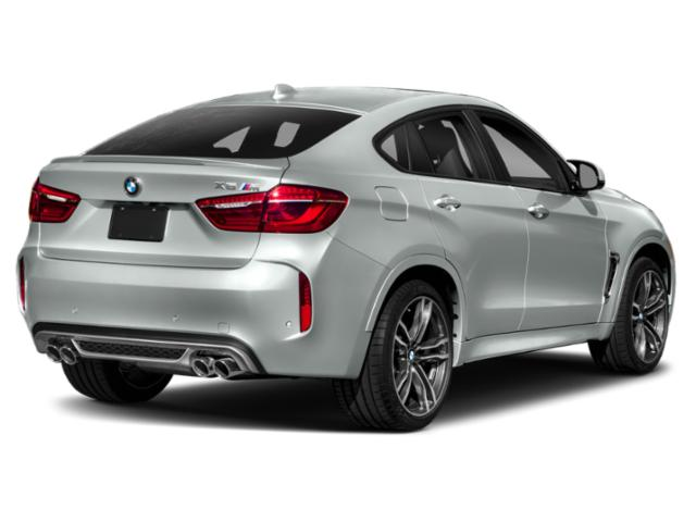 2018 BMW X6 M Prices and Values Utility 4D M AWD side rear view