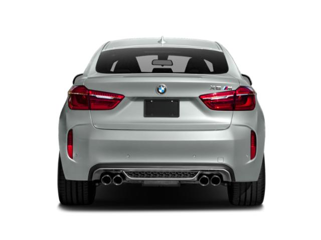 2018 BMW X6 M Prices and Values Utility 4D M AWD rear view