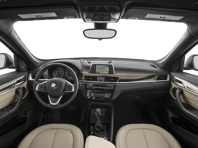 2018 BMW X1 Base Price xDrive28i Sports Activity Vehicle Pricing full dashboard