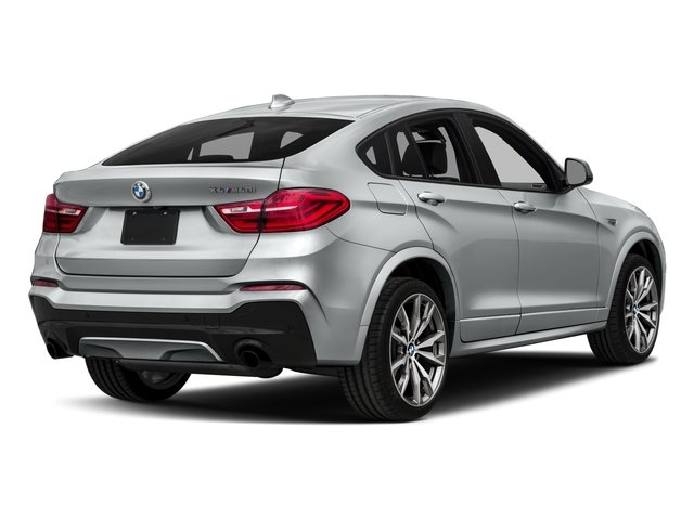 2018 BMW X4 Base Price M40i Sports Activity Coupe Pricing side rear view