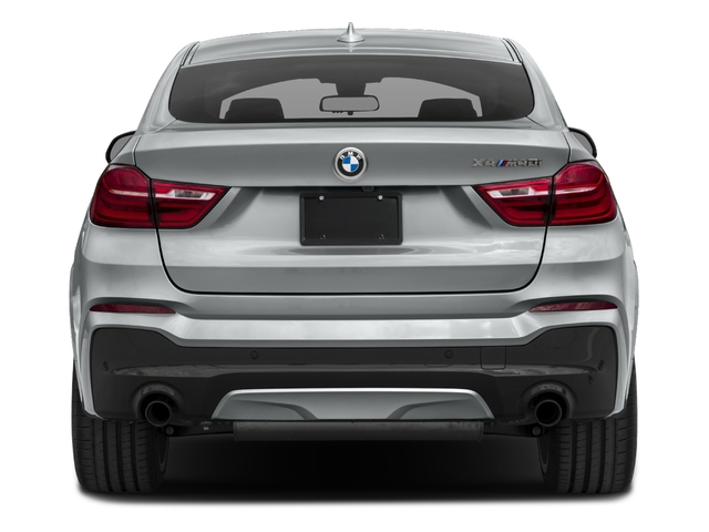2018 BMW X4 Base Price M40i Sports Activity Coupe Pricing rear view