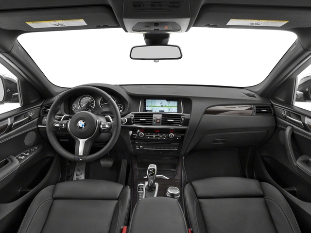 2018 BMW X4 Base Price M40i Sports Activity Coupe Pricing full dashboard