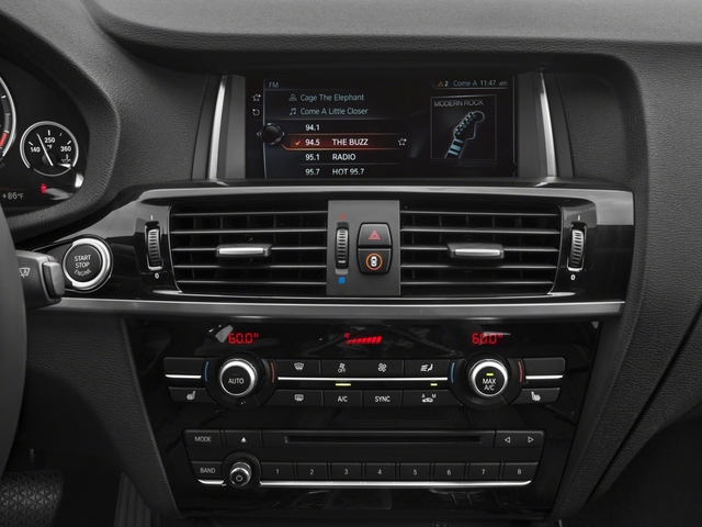 2018 BMW X4 Base Price M40i Sports Activity Coupe Pricing stereo system