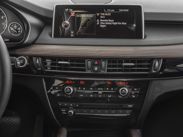2018 BMW X5 Base Price xDrive40e iPerformance Sports Activity Vehicle Pricing stereo system