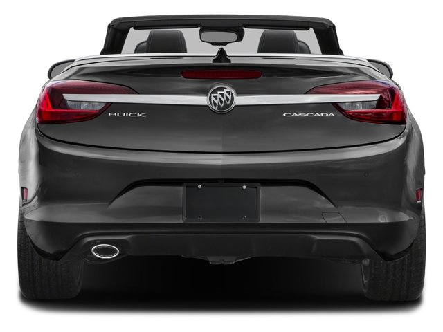 2018 Buick Cascada Pictures Cascada 2dr Conv Sport Touring photos rear view