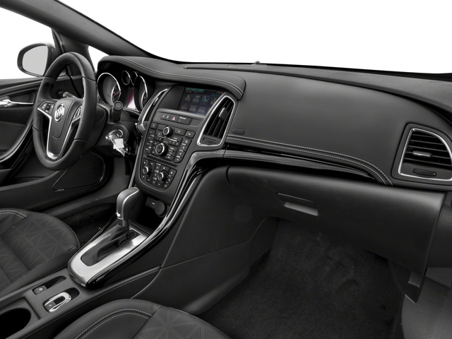 2018 Buick Cascada Prices and Values Convertible 2D Premium passenger's dashboard