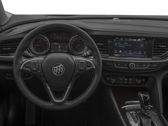 2018 Buick Regal Sportback Base Price 4dr Sdn Essence FWD Pricing driver's dashboard