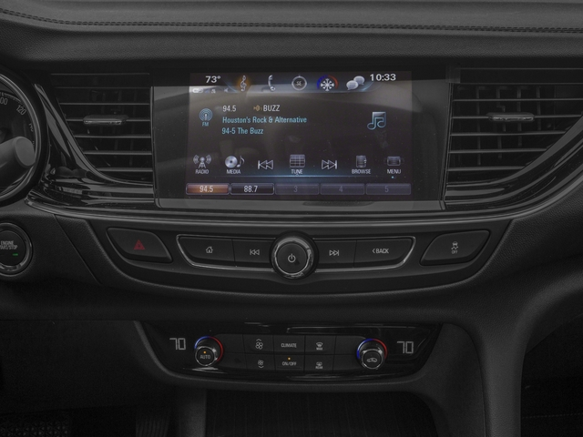 2018 Buick Regal Sportback Base Price 4dr Sdn Essence FWD Pricing stereo system