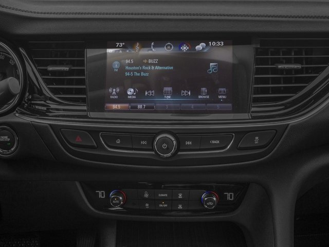 2018 Buick Regal Sportback Pictures Regal Sportback 4dr Sdn GS AWD photos stereo system
