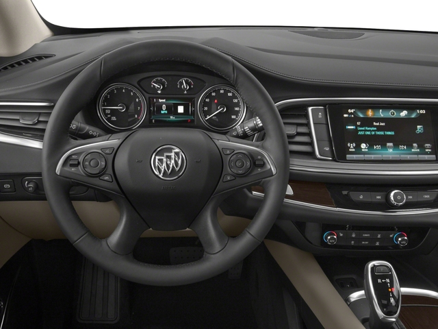 2018 Buick Enclave Base Price FWD 4dr Premium Pricing driver's dashboard