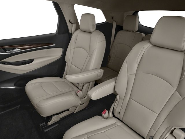 2018 Buick Enclave Pictures Enclave FWD 4dr Avenir photos backseat interior