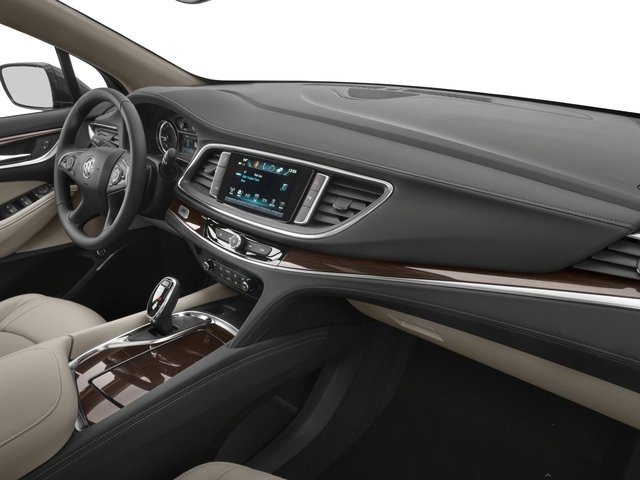 2018 Buick Enclave Base Price FWD 4dr Premium Pricing passenger's dashboard