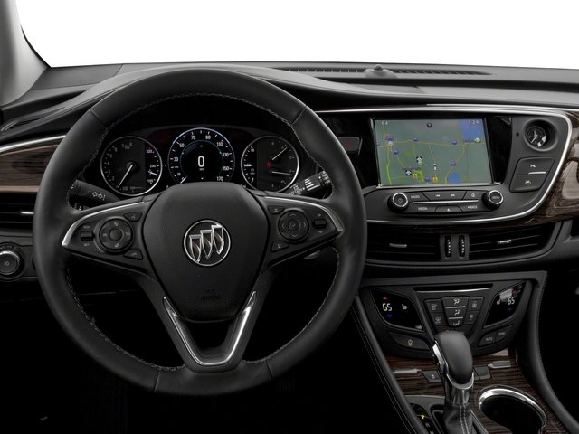 2018 Buick Envision Prices and Values Utility 4D Premium I AWD driver's dashboard