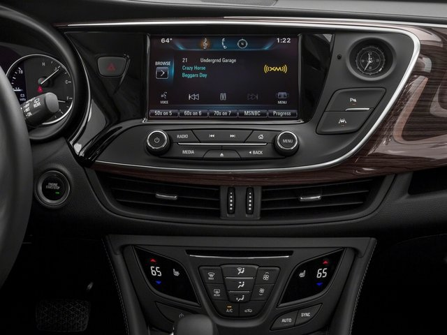 2018 Buick Envision Prices and Values Utility 4D Premium I AWD stereo system