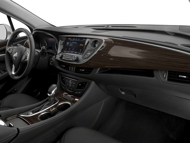 2018 Buick Envision Base Price FWD 4dr Pricing passenger's dashboard